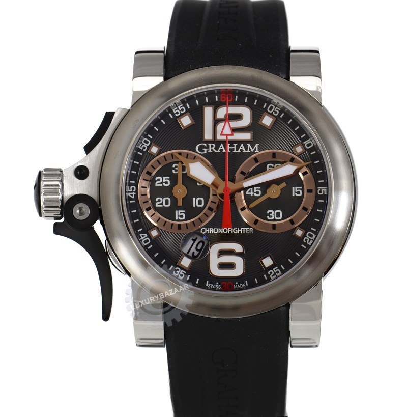 Chronofighter Trigger Charcoal Rush R.A.C. 2TRBS.B05A.K43S
