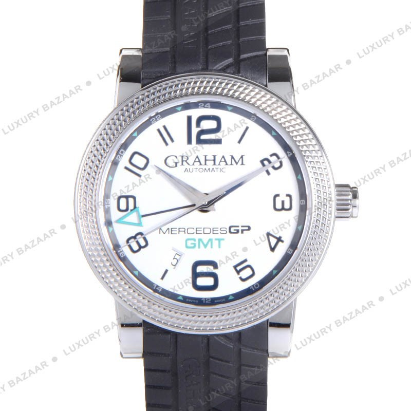 Mercedes GP Time Zone Silver 2MECS.S03A.