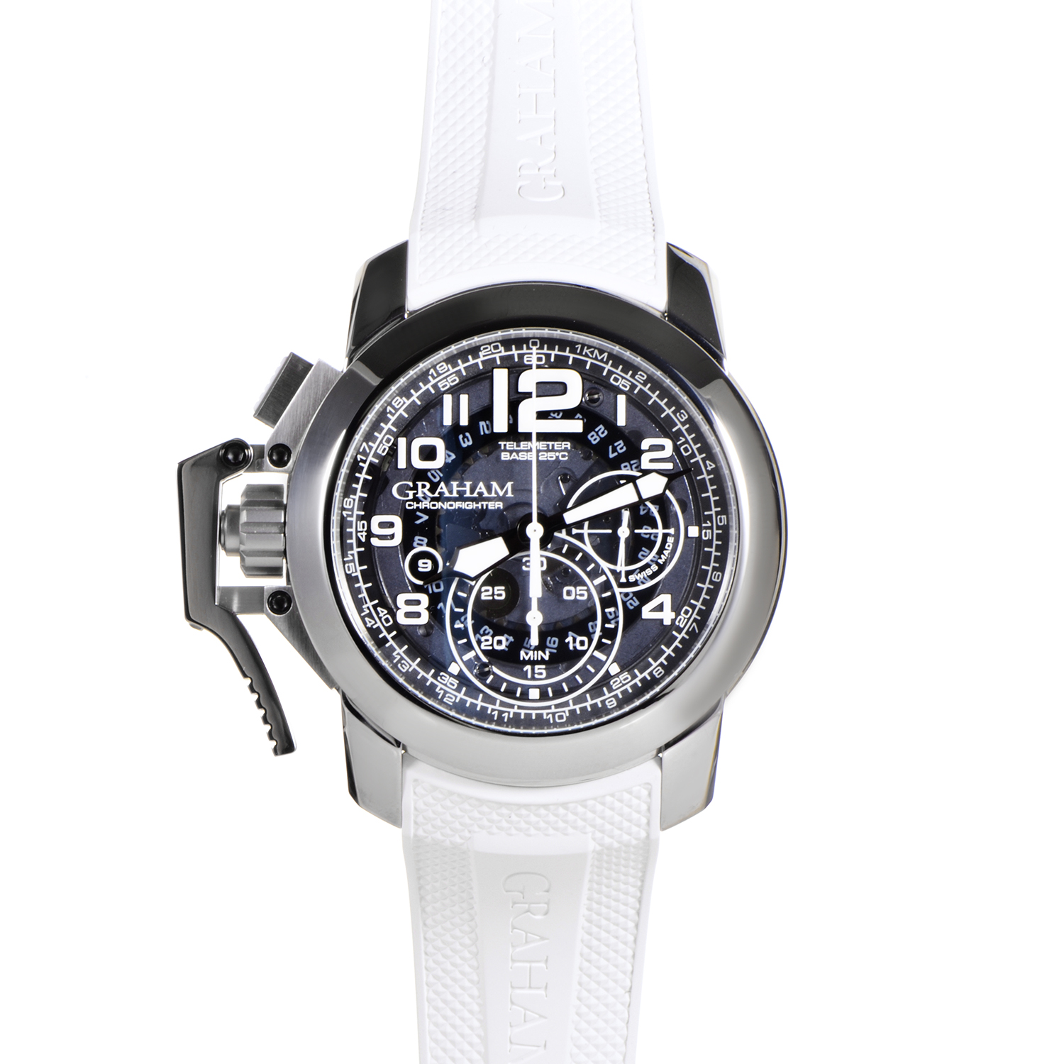 Chronofighter Oversize Steel Target Blue Limited 2CCAS.U04A.K102S