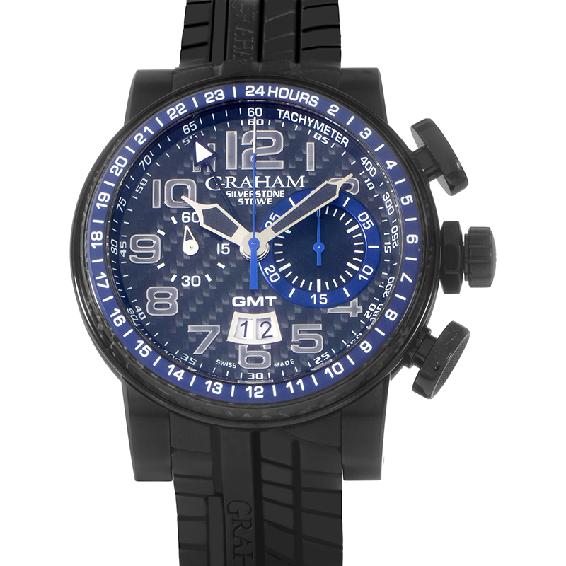 Silverstone Stowe GMT Blue 2BLCB.B30A (Stainless Steel)