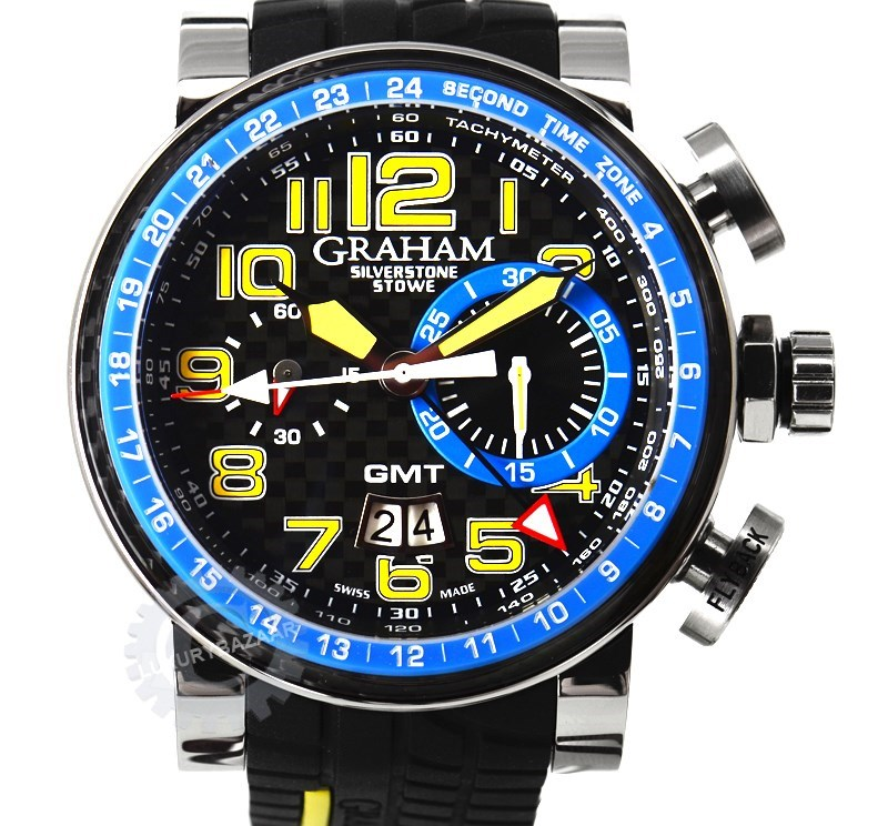 Silverstone Stowe GMT Blue 2BLCH.B06A.K66S