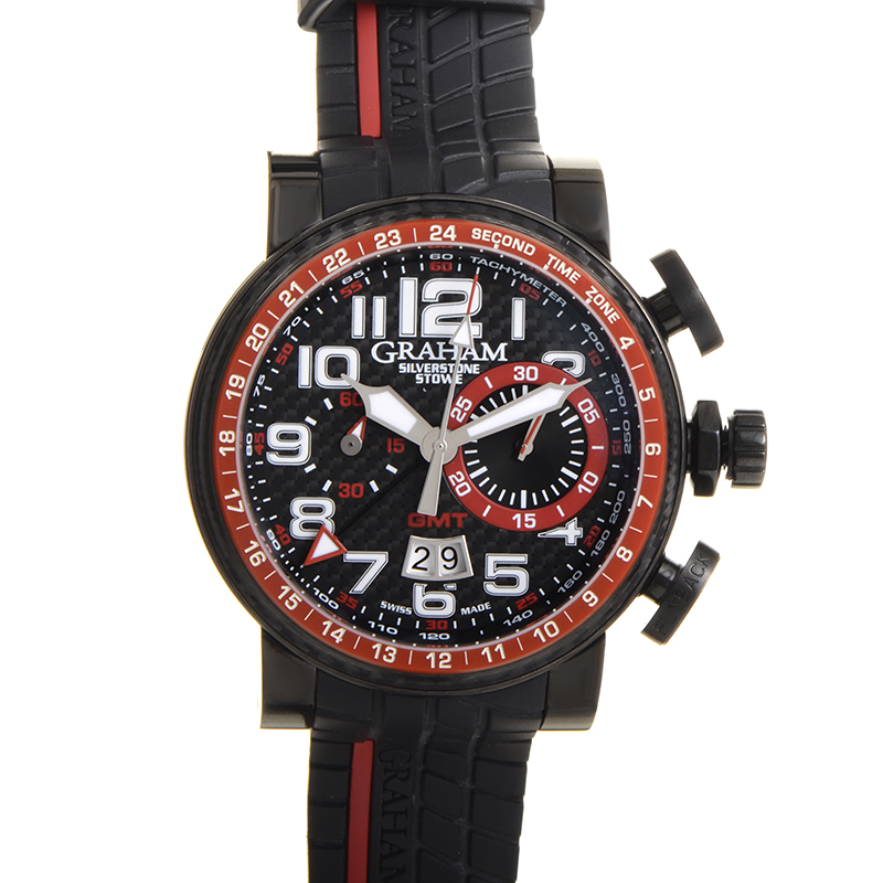Silverstone Stowe GMT Red 2BLCB.B10A.K60N