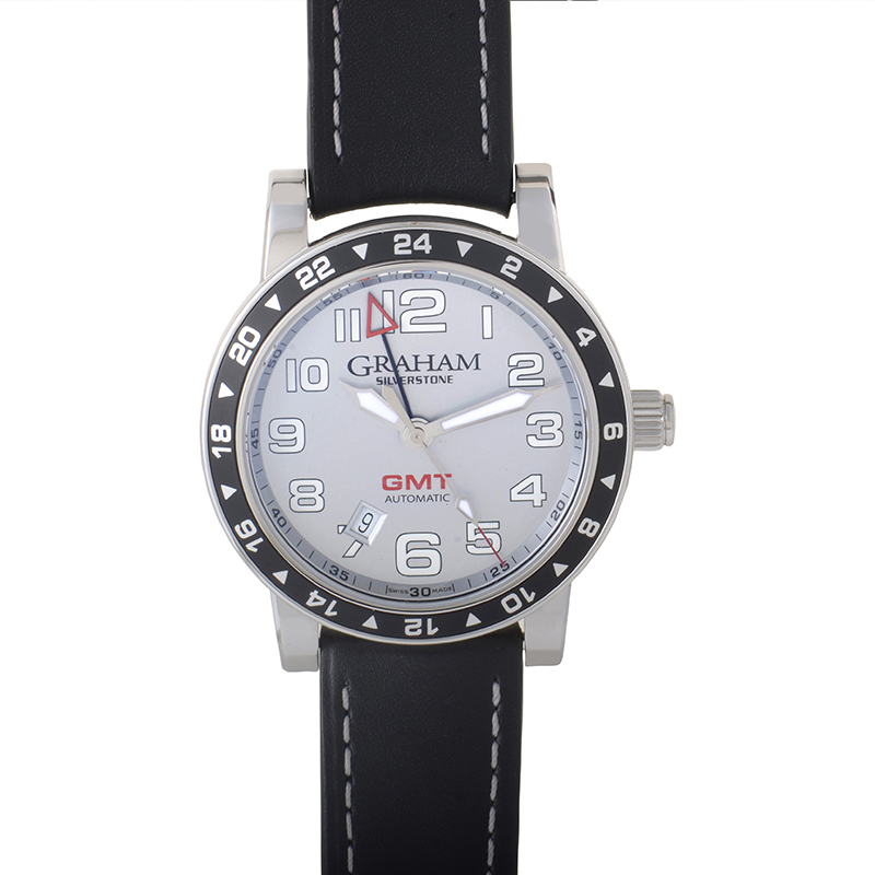 Silverstone Time Zone Silver 2TZAS.S01A