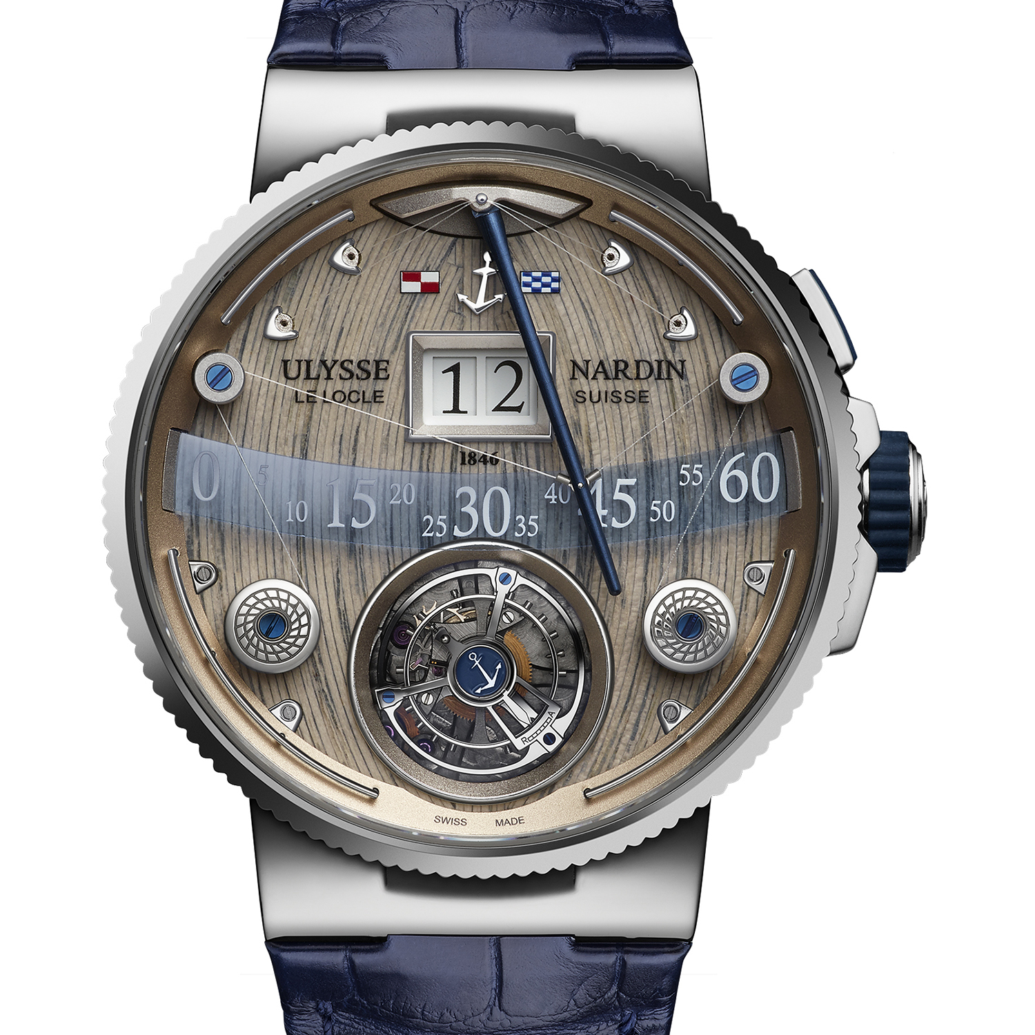 Marine Grand Deck Tourbillon 44mm 6300-300/GD