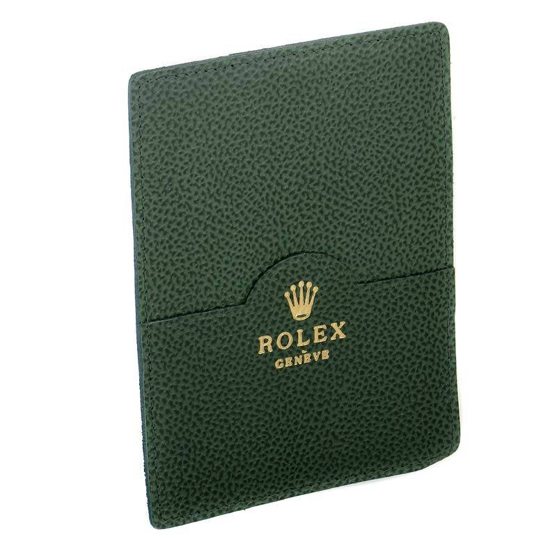 Vintage Green Antique Grained Leather Wallet