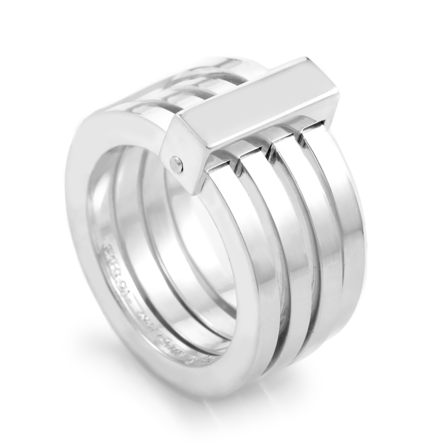 Sterling Silver Multi-Band Ring 06201040984006