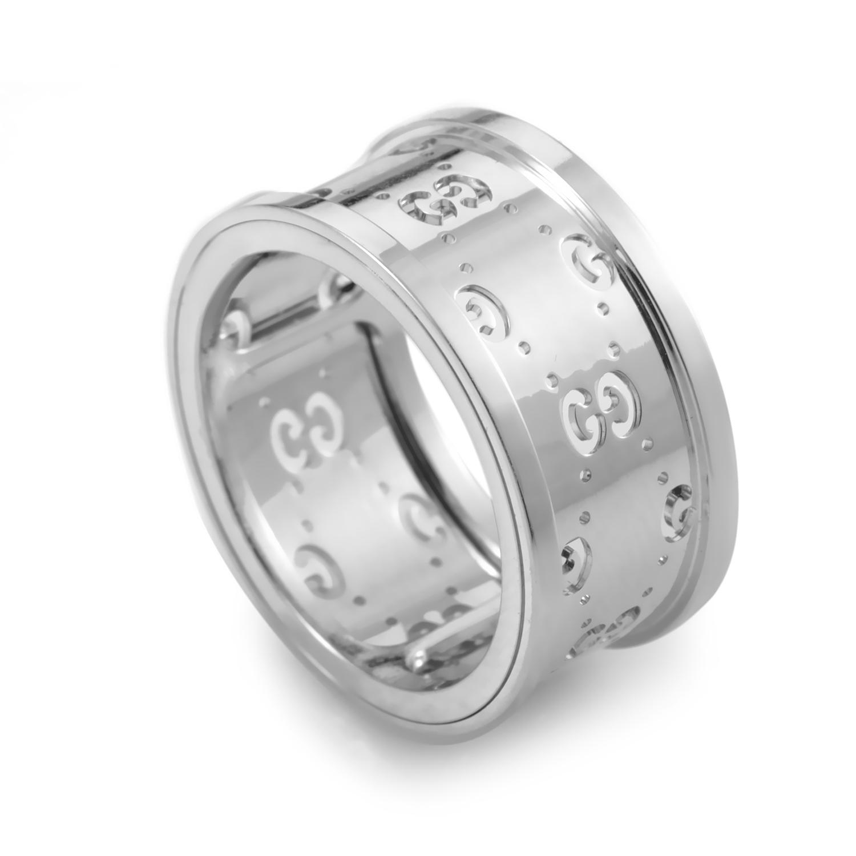 Icon Women's 18K White Gold Band Ring 08055811