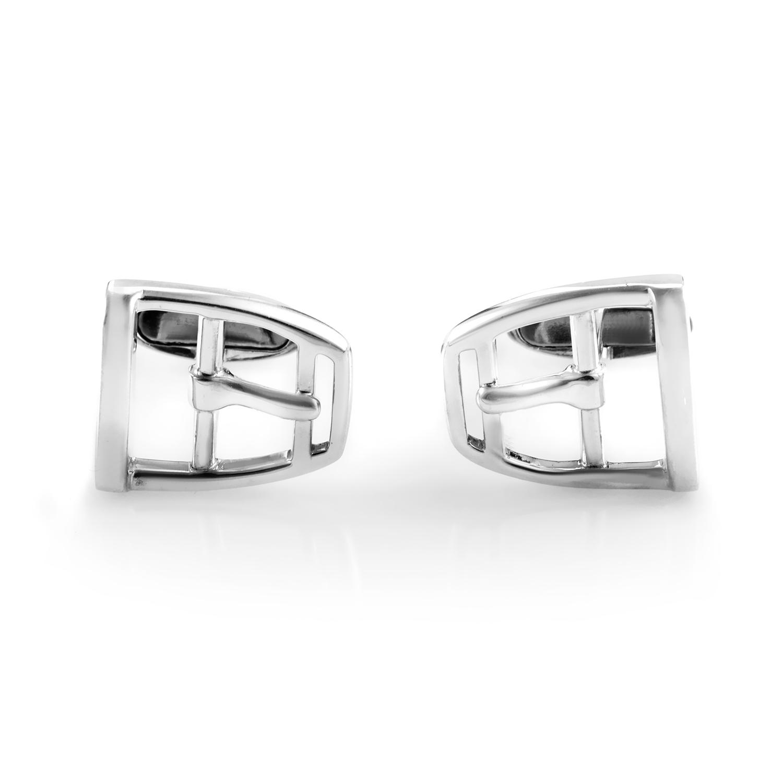 Fibbia Sterling Silver Cufflinks