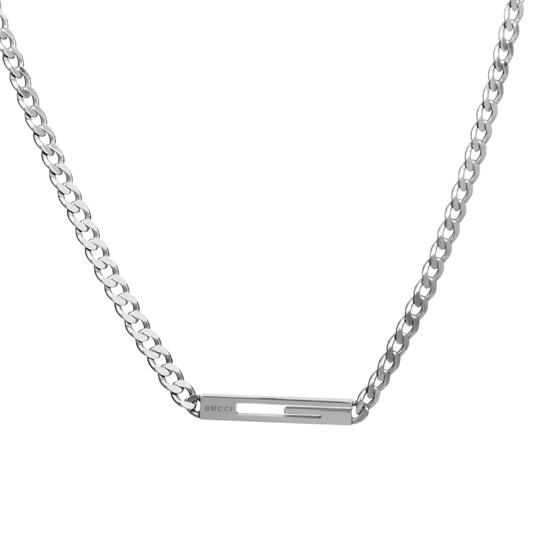 Womens Sterling Silver Long Cutout