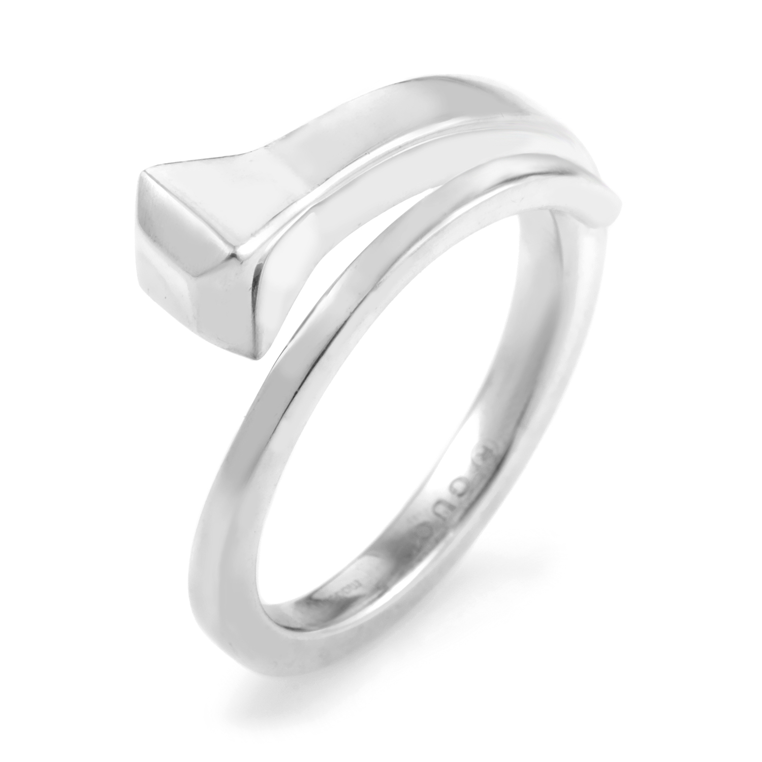 Chiodo Sterling Silver Ring AGGSR1018