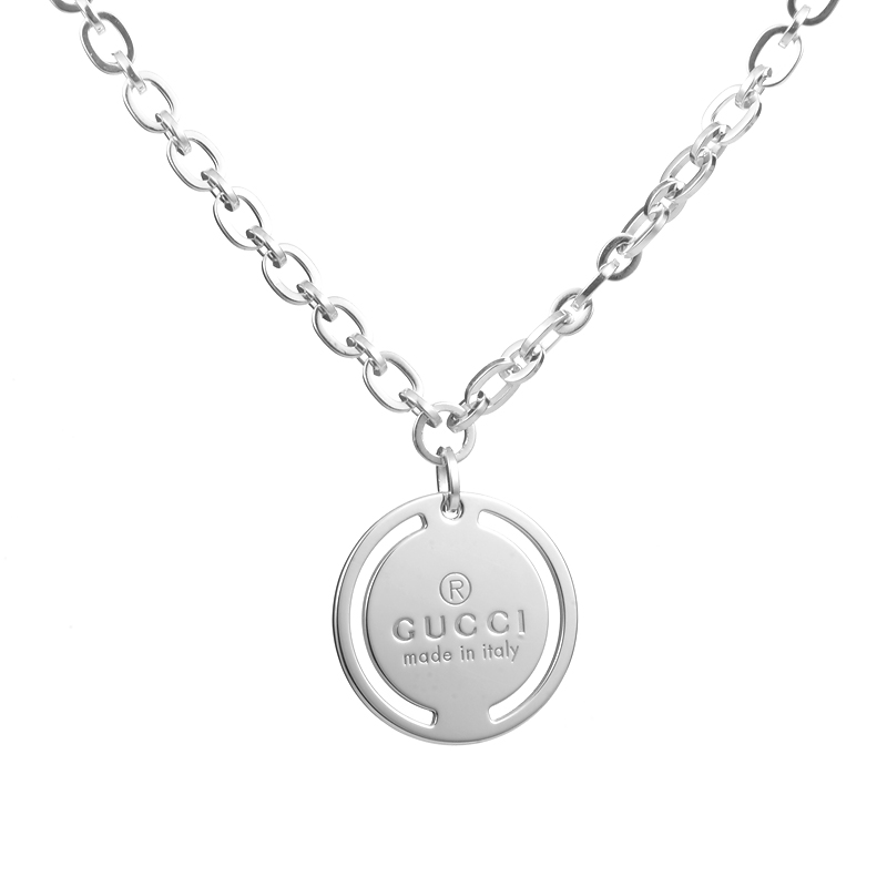 Sterling Silver Signature Pendant Necklace 181419J84008106