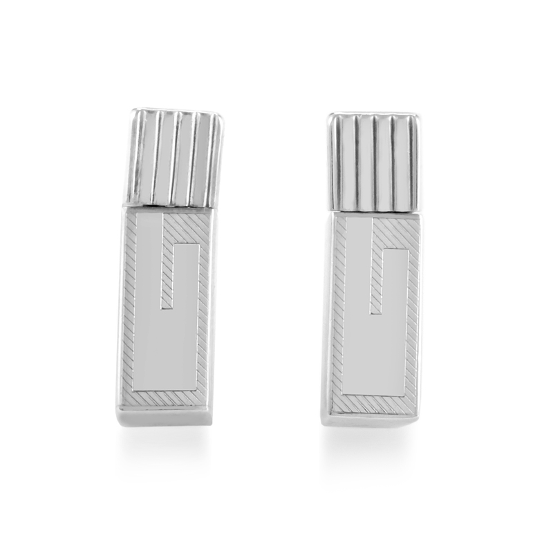 Sterling Silver Stick Earrings GUC20-010515