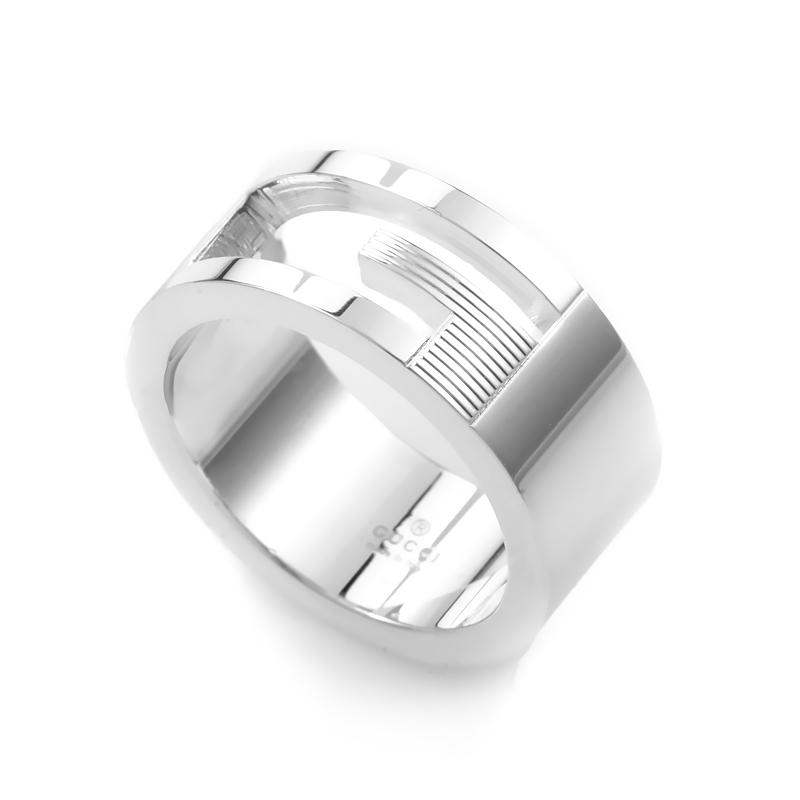 gucci g sterling silver cutout ring guc20 010615 ebay