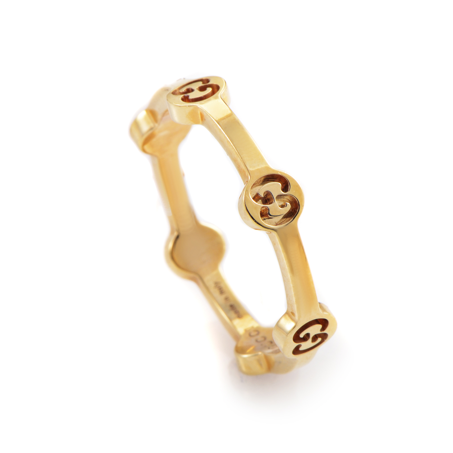 Icon Women's Thin 18K Yellow Gold Ring TONDOY