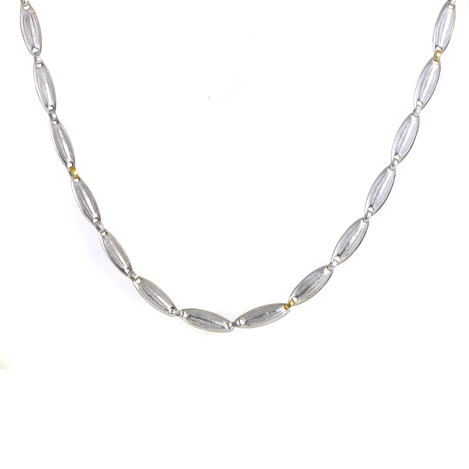 Orb Women's Sterling Silver & 24K Yellow Gold Long Necklace