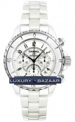 J12 White Chronograph Automatic 41mm H1007