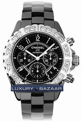 J12 Black Chronograph Automatic 41mm H1178