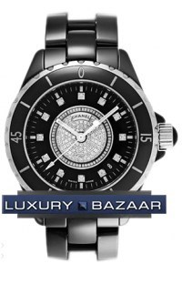 J12 Black Automatic 38mm H1757