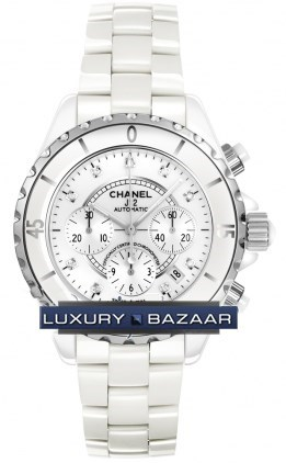J12 White Chronograph Automatic 41mm H2009