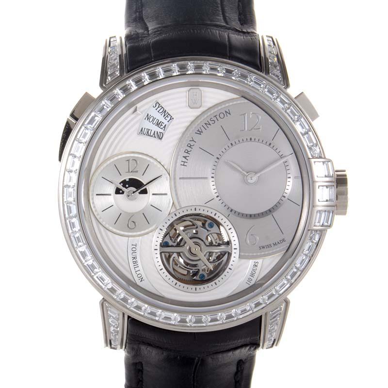 Midnight GMT Dual Time Tourbillon 450/mattz45w