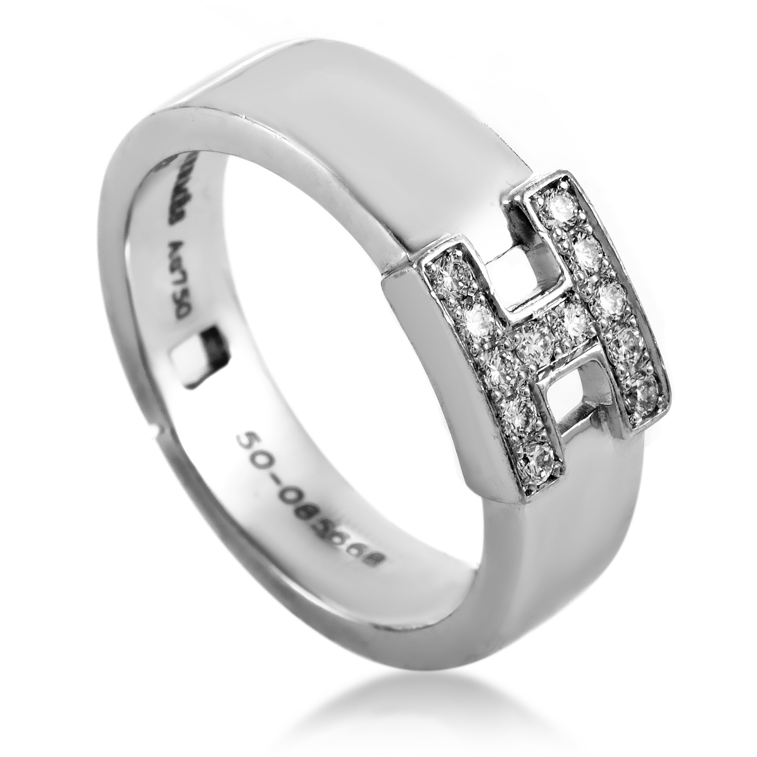 Hermès Women's 18K White Gold Diamond
