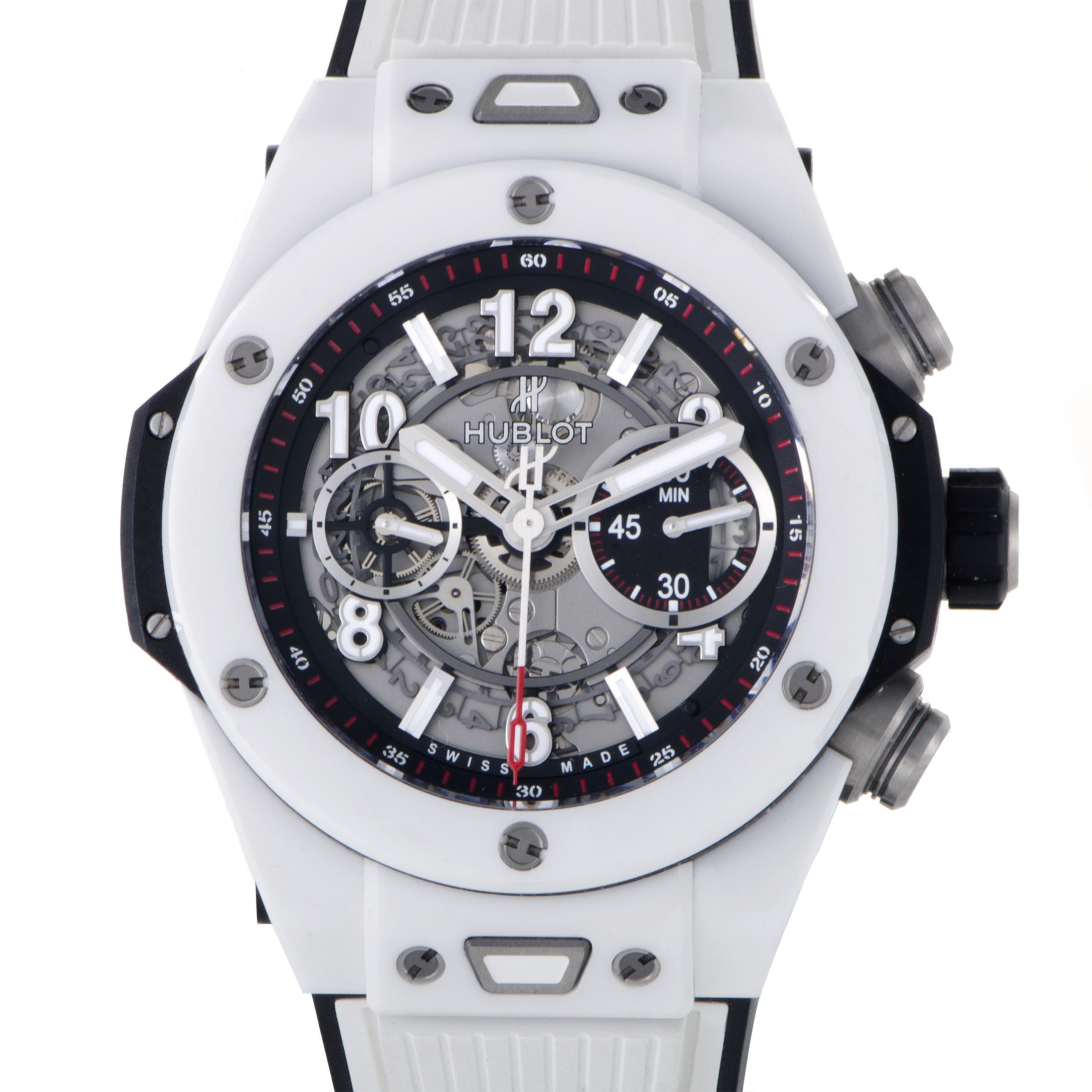 Big Bang Unico White Ceramic Watch 411.HX.1170.RX (Ceramic)