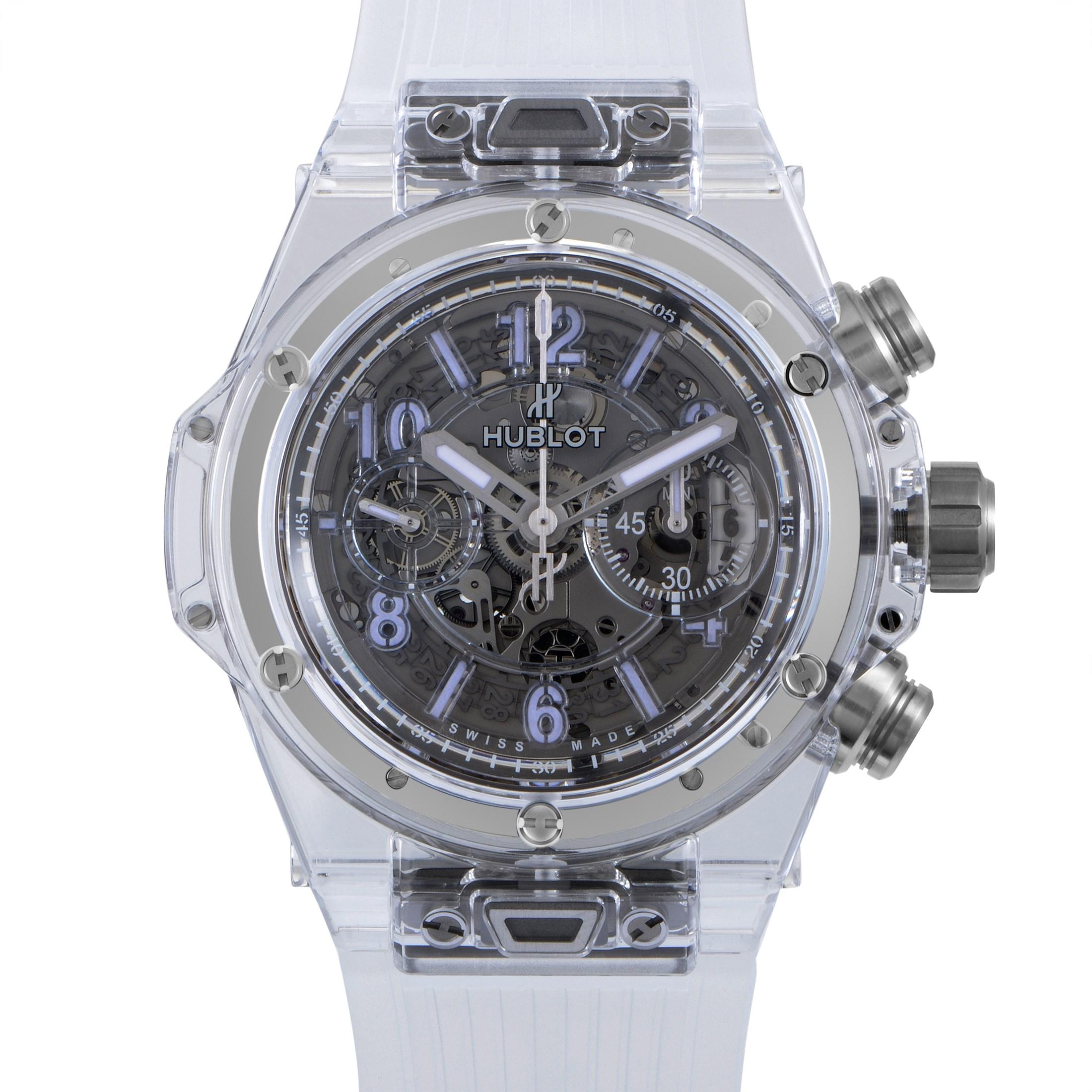 Big Bang Unico Sapphire Men's Chronograph Watch 411.JX.4802.RT