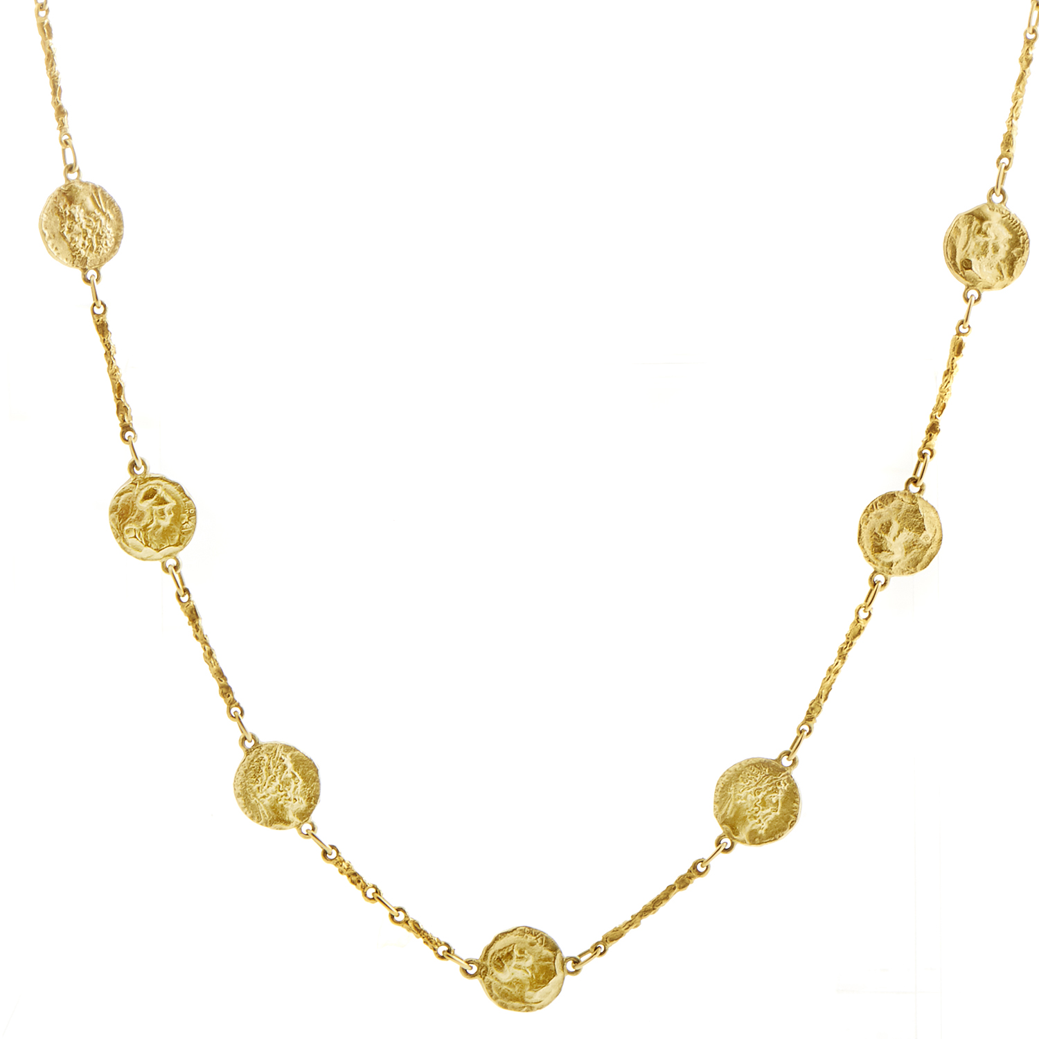 Hammerman Brothers Women's 18K Yellow Gold Coin Sautoir Necklace