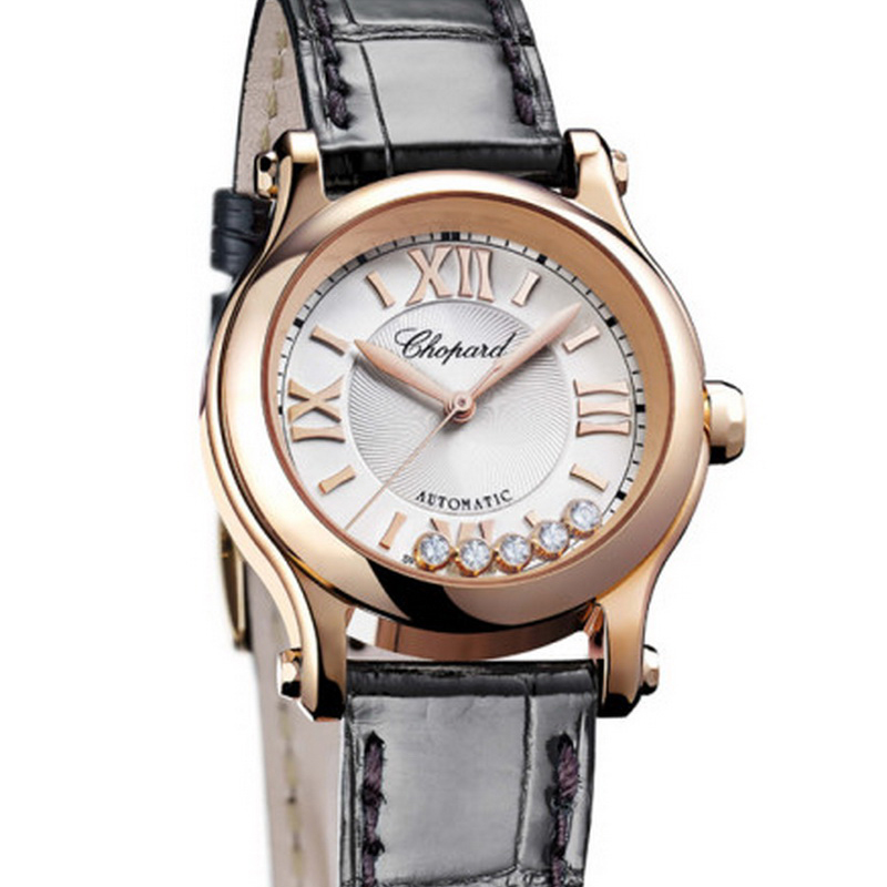 Happy Sport 30 mm Automatic 274893-5001 (Rose Gold)