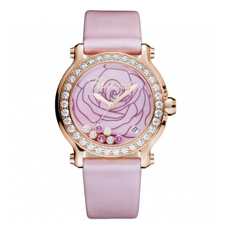 Happy Sport Medium La Vie en Rose Watch 277473-5011