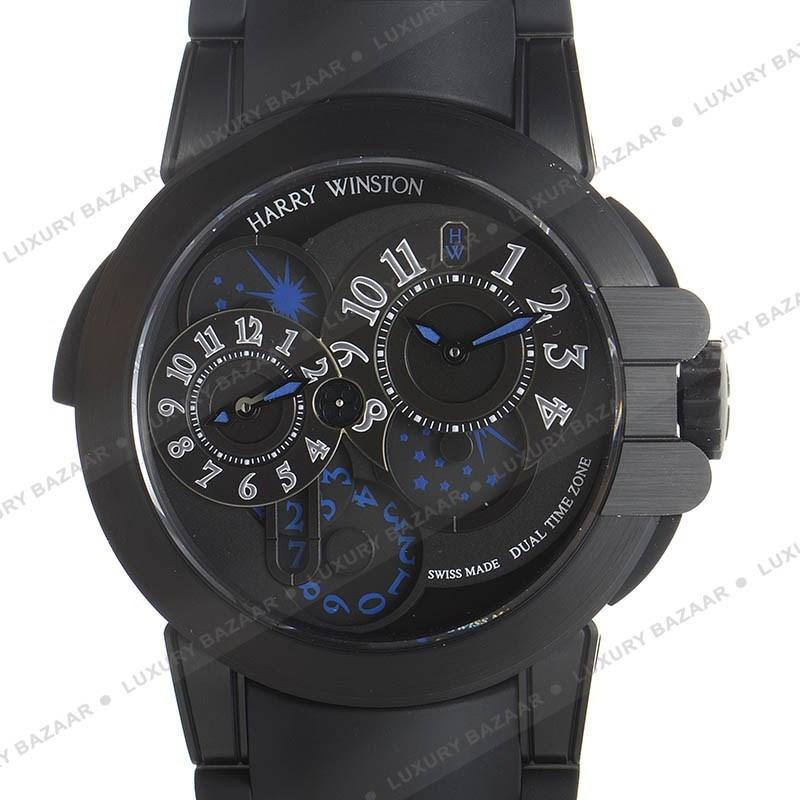 Ocean Dual Time Black Edition OCEATZ44ZZ007