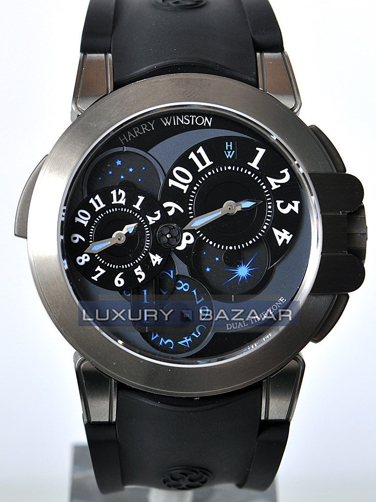 Harry Winston Project Z4 (Zalium / Black / Rubber)