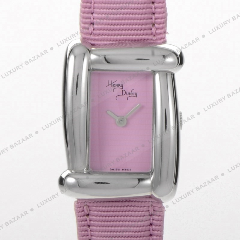 Henry Dunay Pink Satin Leather Strap WP007PKPK