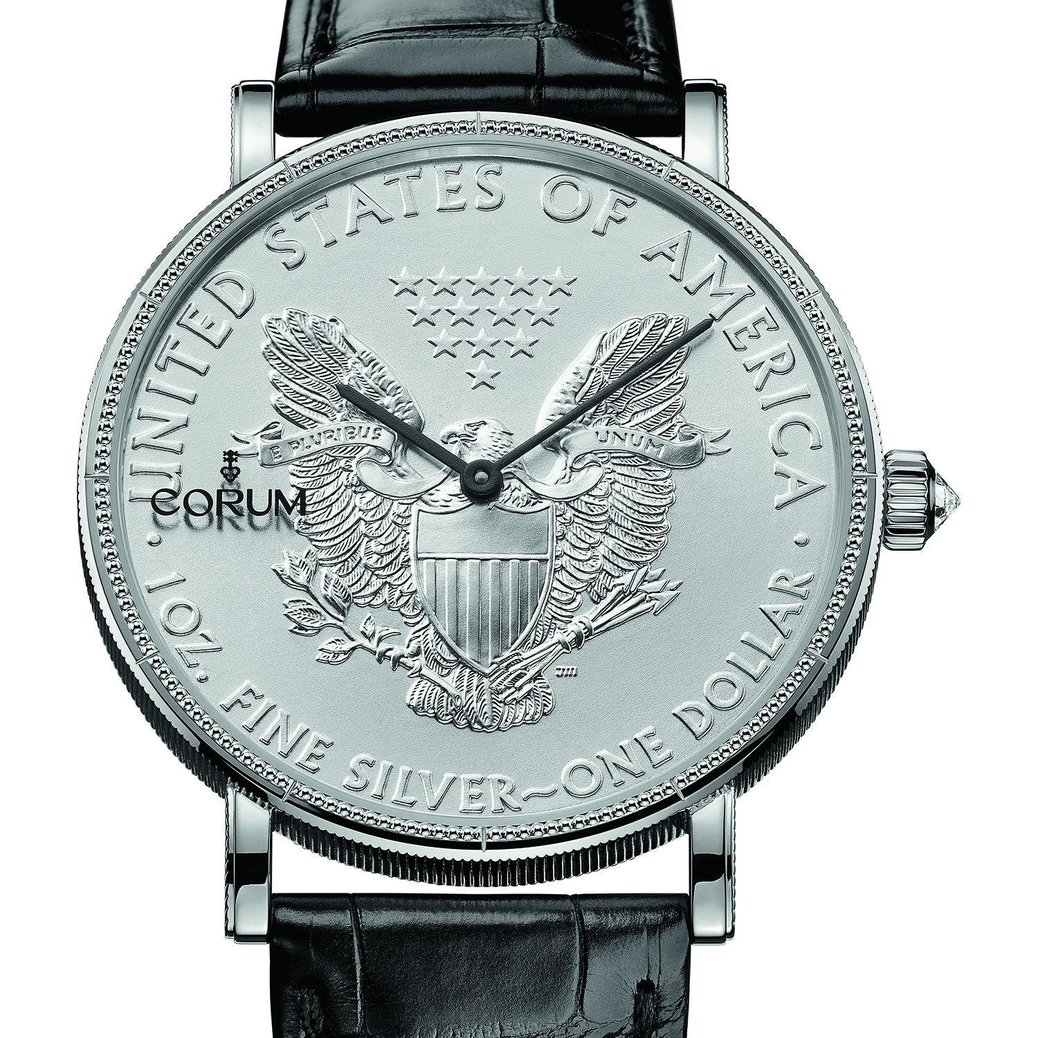 Heritage Coin Watch $1 082.645.01/0001 MU53