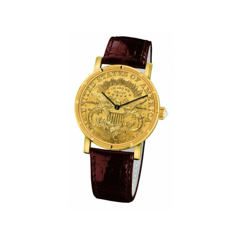 Heritage Men's Coin Watch $20 082.355.56/0002 MU51