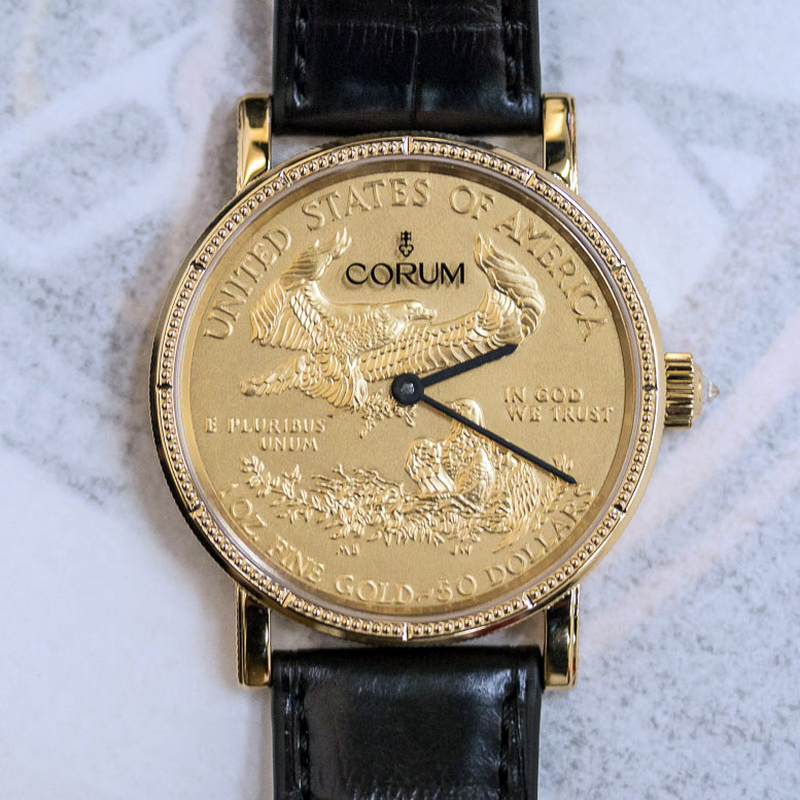 Heritage Coin Watch $50 082.645.56/0001 MU52