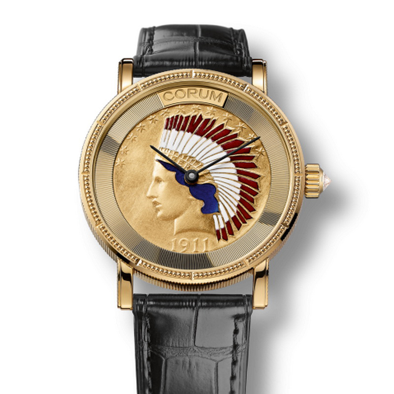 Heritage Coin Watch Indian Head 082.101.56/0001 MU61