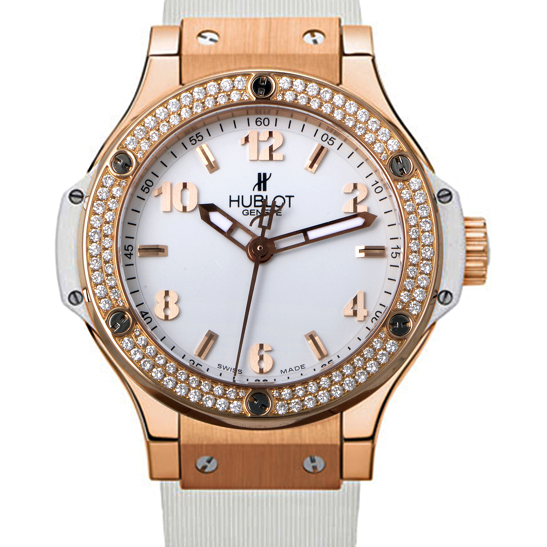 Big Bang 38mm Quartz Ladies Watch 361.PE.2010.RW.1104