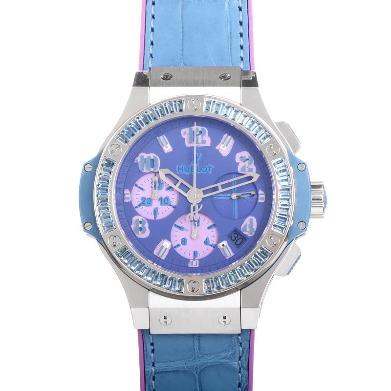 Big Bang Pop Art Steel Blue 341.SL.5199.LR.1907.POP14