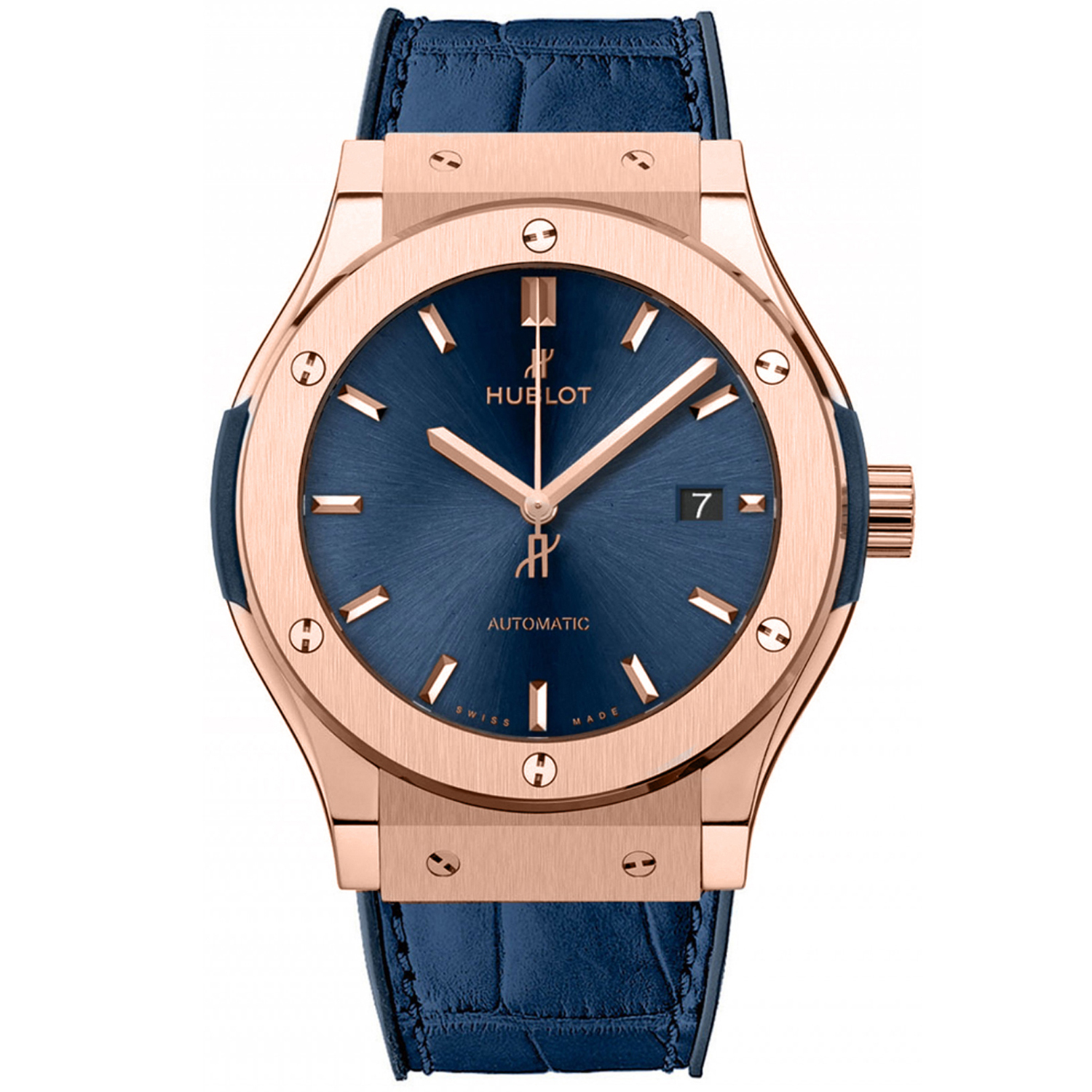 Classic Fusion 33mm Blue King Gold 581.OX.7180.LR