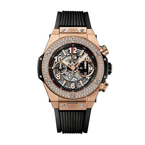 Unico King Gold Diamonds Chronograph 411.OX.1180.RX.1104
