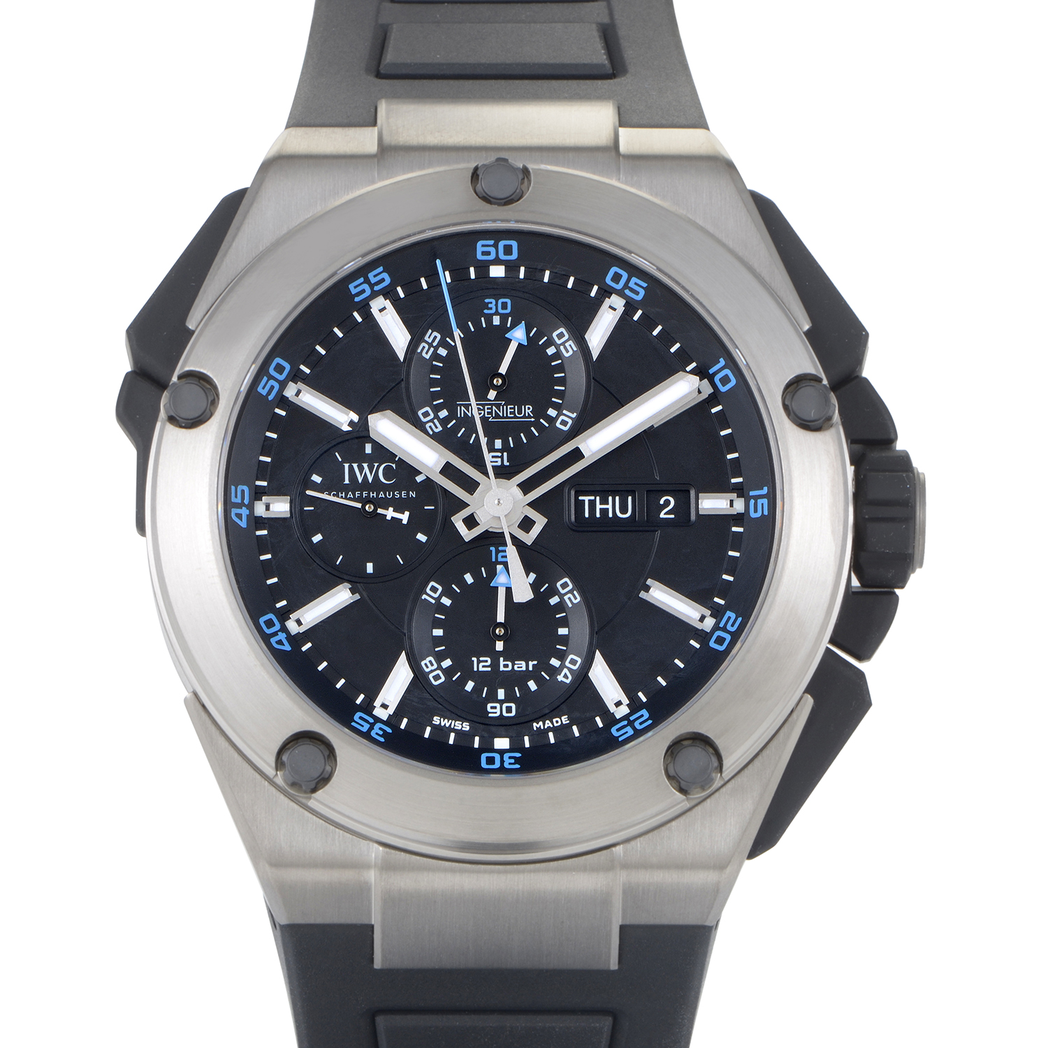 Ingenieur Double Chronograph Men's Automatic Watch IW386503