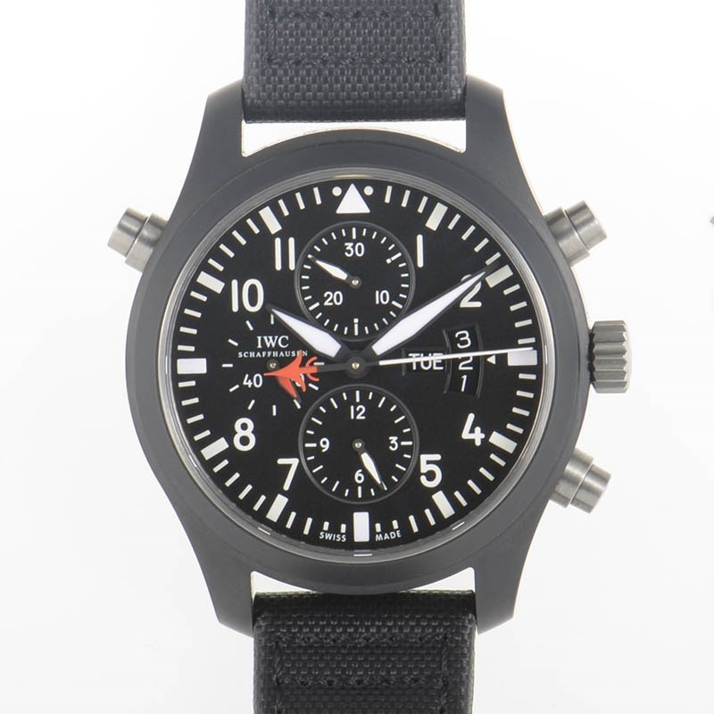 Pilot's Double Chronograph Edition Top Gun IW379901