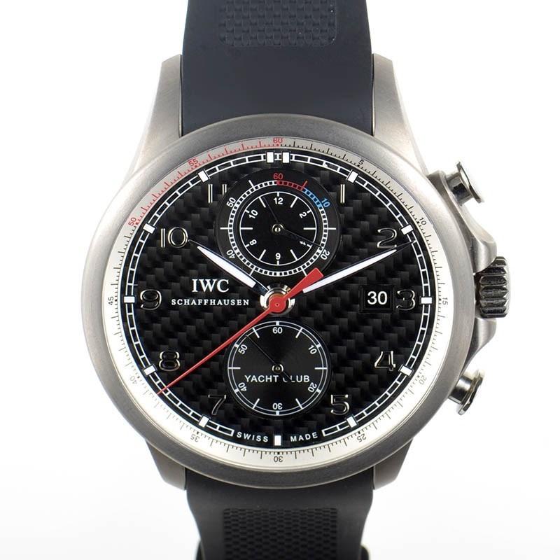 Portuguese Yacht Club Men's Automatic Chronograph Watch IW390212