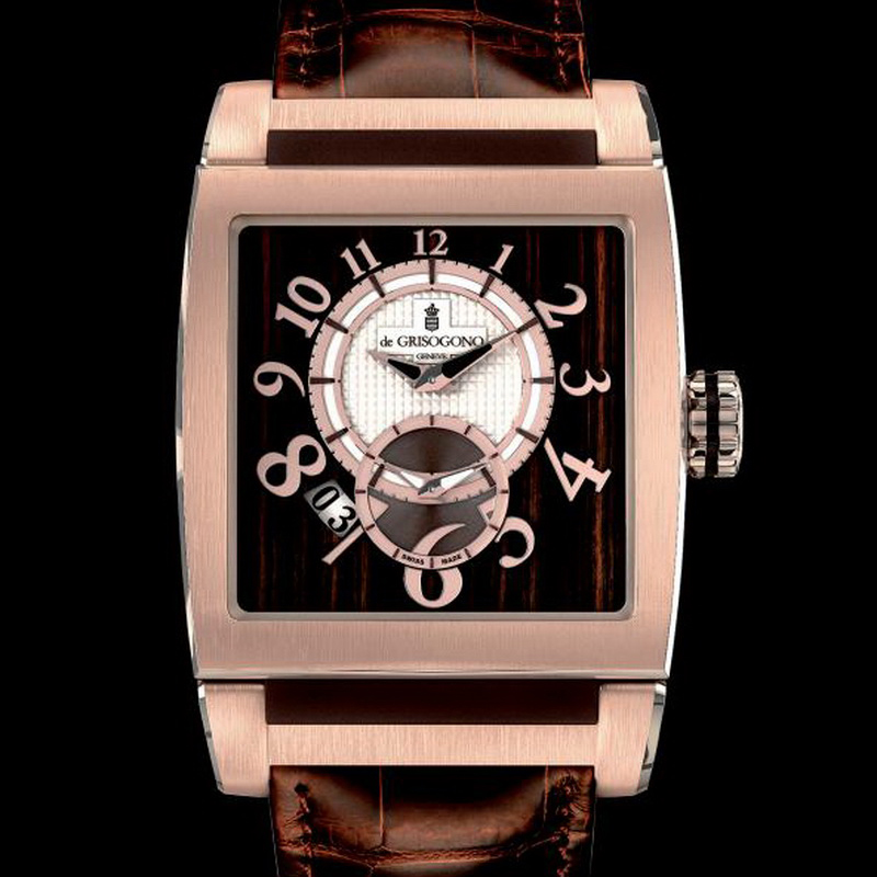 Instrumento N°Uno XL UNO DF XL N01 (Rose Gold and PVD Titanium)