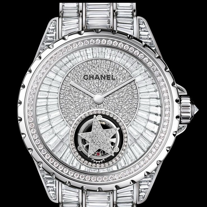 J12 High Jewelry Flying Tourbillon H3846