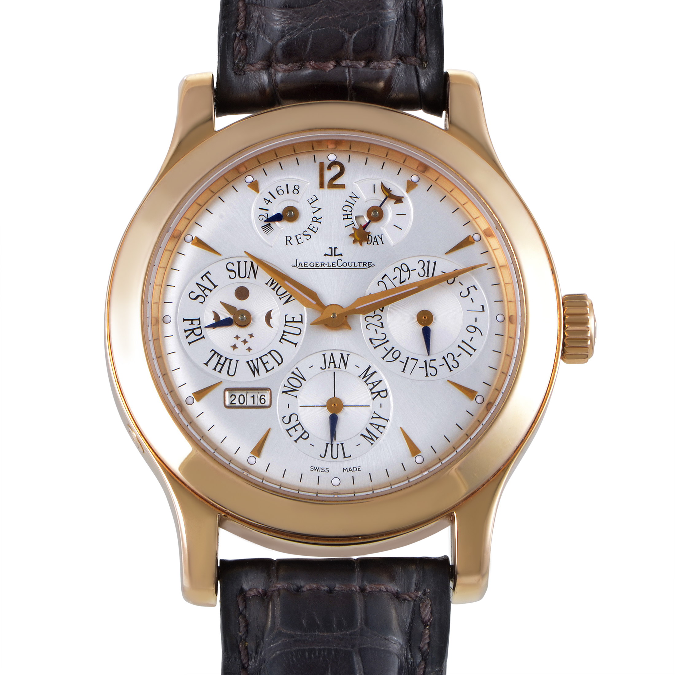 Master Eight Days Men's Perpetual Manual Watch  Q161242A