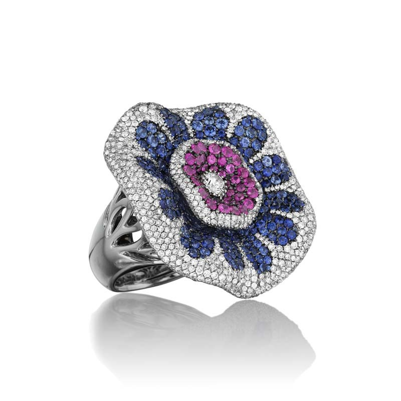 18K White Gold Perfect Passion Ring