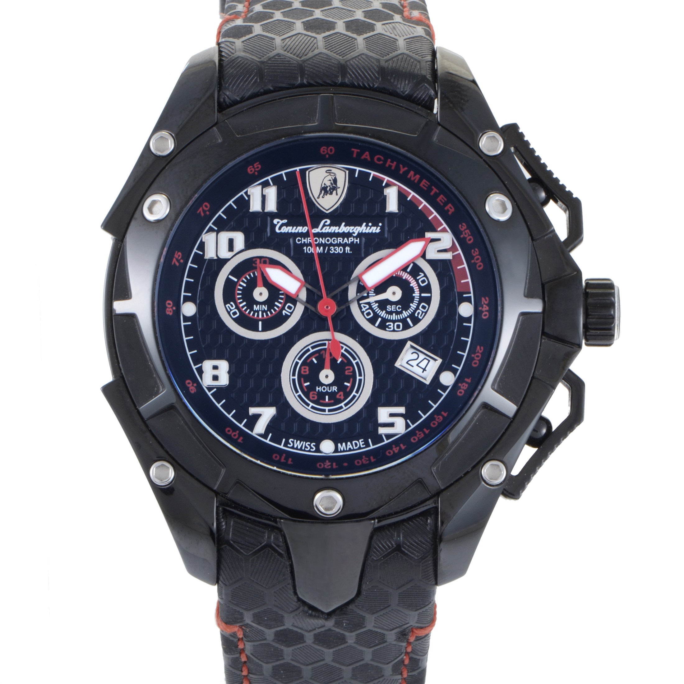 Spyder Men's Quartz Chronograph Watch 3400 3403