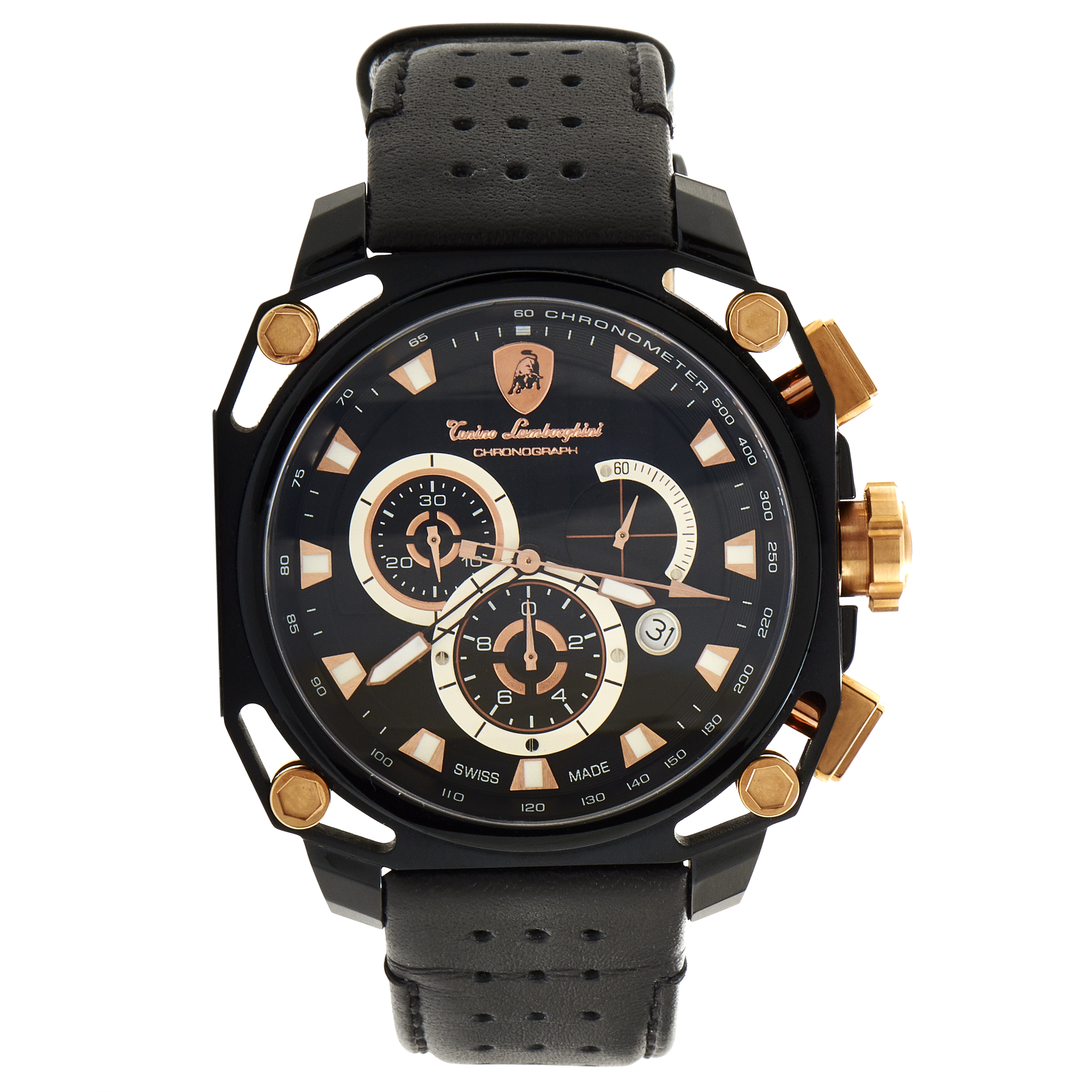 Men's 4 Screws Quartz Chronograph Watch 4850